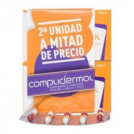 Complidermol Cabello y Uñas Duplo 2 x 50 Cápsulas