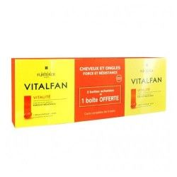Rene Furterer Vitalfan Vitalidad Pack 3 x 30 Cápsulas
