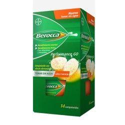 Berocca Performance Go Sabor Naranja 14 Comprimidos
