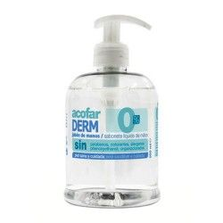 AcofarDERM Jabón de Manos 0% Con Dosificador 500 ml.