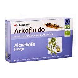 ALCACHOFA-HINOJO 20 AMPOLLAS ARKO.