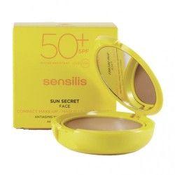 Sensilis Sun Secret Face Maquilaje Compacto SPF 50+ Bronze 10 gr.