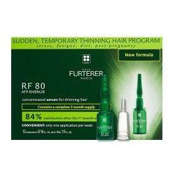Rene Furterer RF 80 ATP Energie Tratamiento Anticaída Concentrado 12 Ampollas
