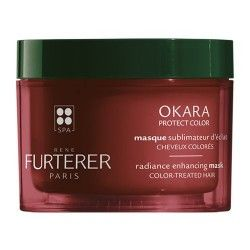 Rene Furterer Okara Protect Color Mascarilla Sublimador Brillo 200 ml.