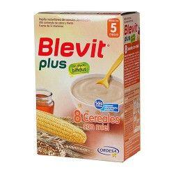 BLEVIT PLUS 8 CEREALES MIEL 300 G.