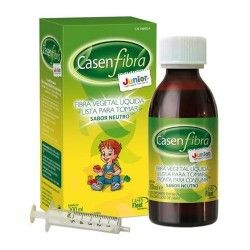 CasenFibra Junior Fibra Vegetal Líquida Sabor Neutro Botella 200 ml.