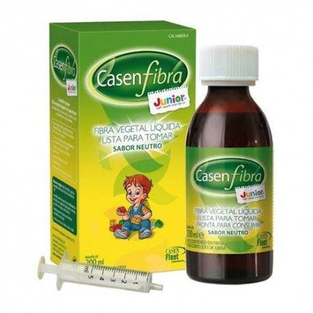 CasenFibra Junior Fibra Vegetal Líquida Sabor Neutro Botella 200 ml.