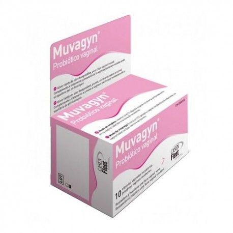 Muvagyn Probiótico Vaginal 10 Cápsulas