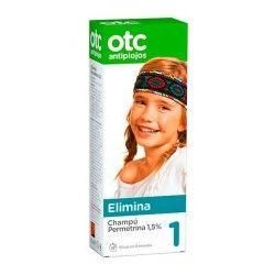 OTC Champú Antipiojos Permetrina 1,5% 125 ml.