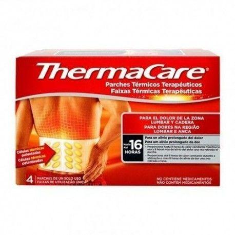 Thermacare Parches Térmicos Lumbares 4 Unidades