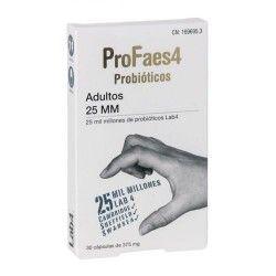 Profaes4 Probióticos 25 MM Adultos 30 Cápsulas