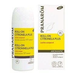 Pranarom Aromapic Roll-On Citronela Plus Leche Corporal 75 ml.