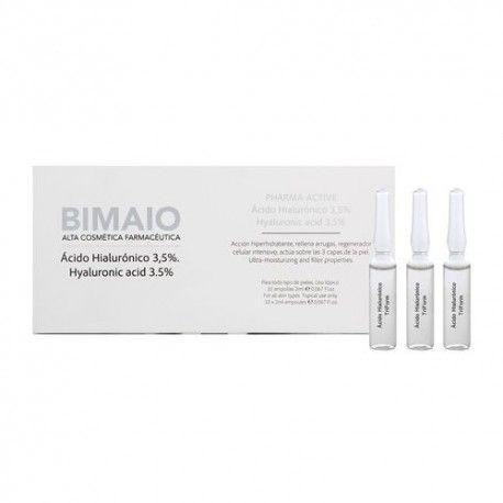 Bimaio Acido Hialurónico 3,5% 10 Ampollas de 2 ml.