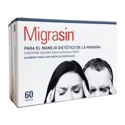 Migrasin Enzima DAO Duplo 60 + 60 Cápsulas