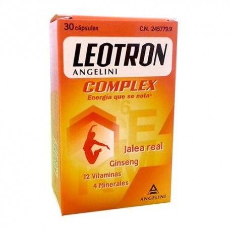 LEOTRON COMPLEX ANGELINI 30 CAPSULAS