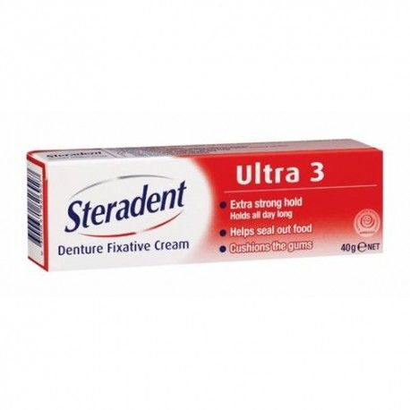 STERADENT ULTRA 3 PLUS ORIGINAL 40 ML.