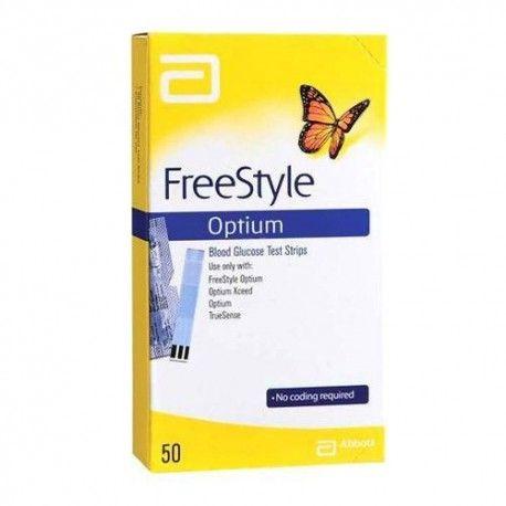 FREESTYLE OPTIUM PLUS 50 TIRAS GLUCOSA