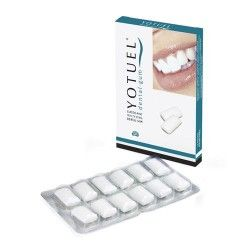 YOTUEL CHICLE CLASIC BLANQUEADOR MENTOLADO 12CHICLES