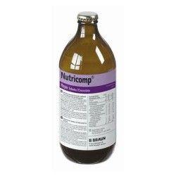 NUTRICOMP HEPA CHOCOLATE 12X500 ML.