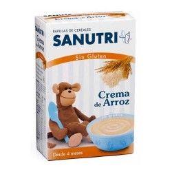 SANUTRI CREMA DE ARROZ SIN GLUTEN 300 G.