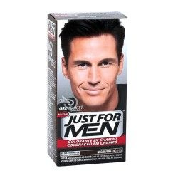 JUST FOR MEN ANTICANAS NEGRO P404