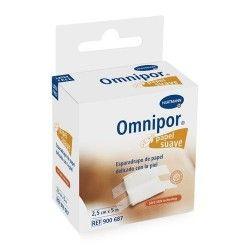 Omnipor Esparadrapo Papel Suave 2,5 cm. x 5 m. Con Dispensador