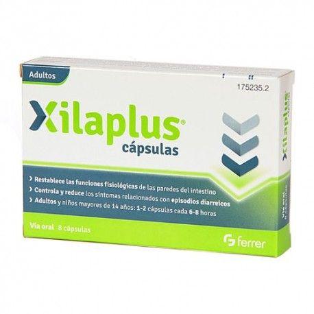 Xilaplus Antidiarréico Adultos 8 Cápsulas