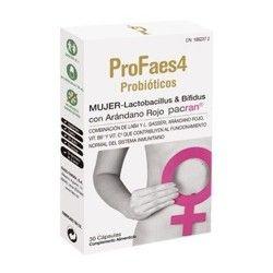 ProFaes4 Probióticos Mujer 30 Cápsulas