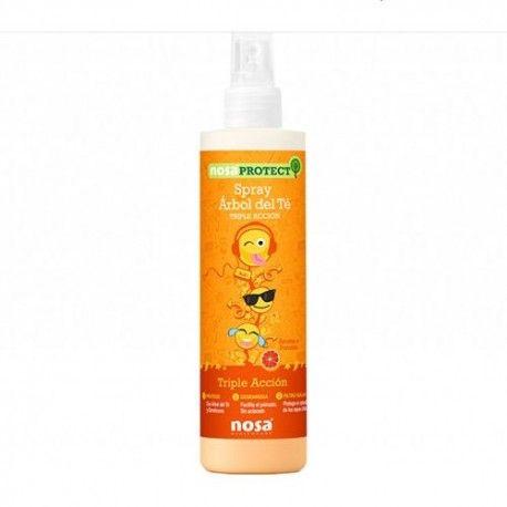 Nosa Spray Árbol del Té Triple Acción Aroma Pomelo 250 ml.