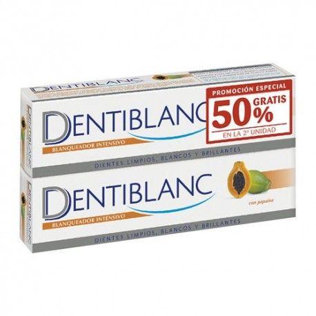 Dentiblanc Pasta Dental Blanqueadora Pack 2x100 ml.