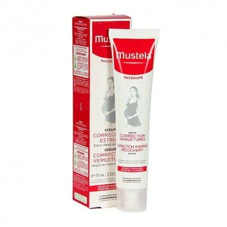 Mustela 9 Meses Antiestrías Acción Intensiva 75 ml.