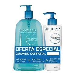 Bioderma Atoderm Pack Gel de Ducha 1000 ml. + Crema 500 ml.