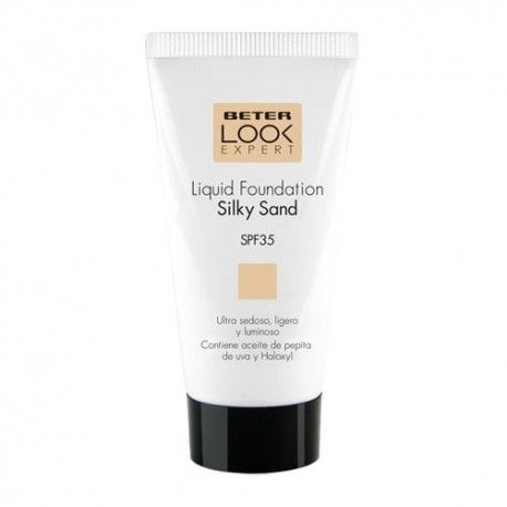 Beter Look Expert Liquid Foundation Base Maquillaje Silky Sand SPF 35+ 50 ml.