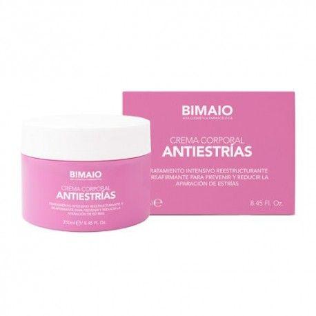 Bimaio Crema Corporal Antiestrías 250 ml.