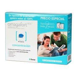 Omegafort Concentración 60 Cápsulas