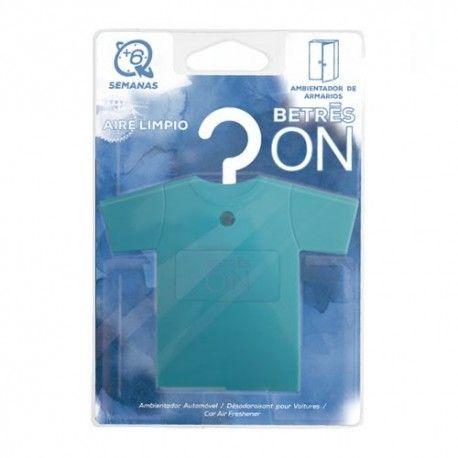 Betres On Ambientador de Armario Camisa Aire Limpio 1 Unidad