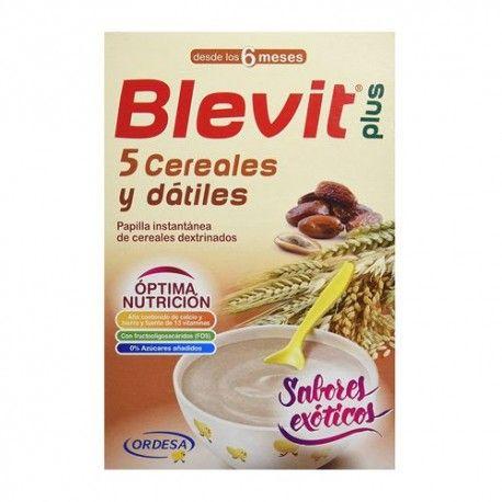 Blevit Plus 5 Cereales y Dátiles 300 gr.
