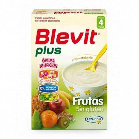Blevit Plus Frutas Sin Gluten 300 gr.