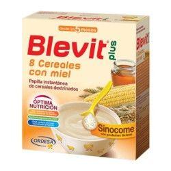 Blevit Plus Sinocome 8 Cereales Con Miel 600 gr.