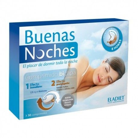 Eladiet Buenas Noches 30 Comprimidos