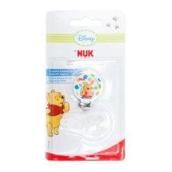 Nuk Sujeta Chupetes Con Cadenita Winnie the Pooh 1 Unidad