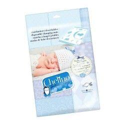 Chelino Fashion & Love Cambiador Infantil Desechable 6 Unidades