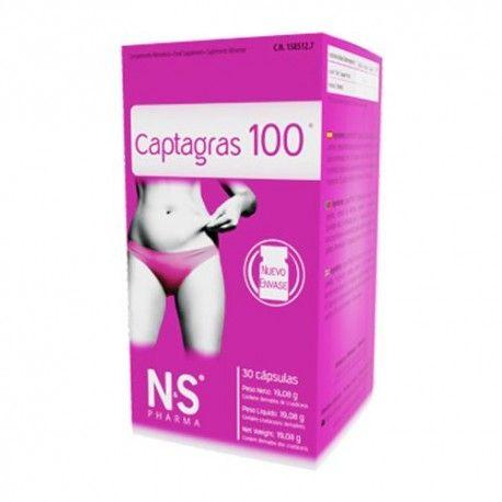 Nutrición Center Captagras 100 30 Cápsulas