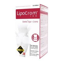 Nutrición Center Super Premium Diet Lipocrom 100 20 Cápsulas