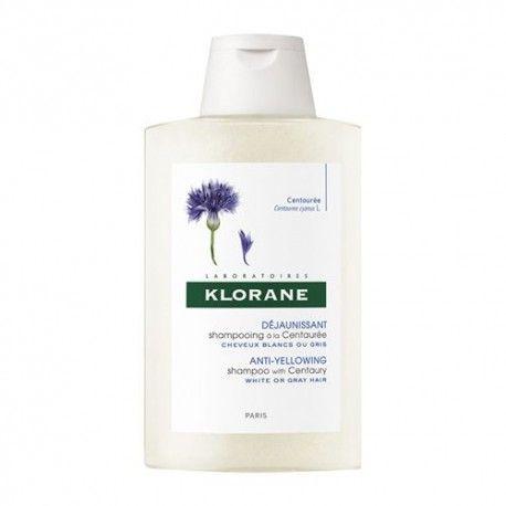 Klorane Champú Reflejos Plateados al Extracto de Centaurea 200 ml.