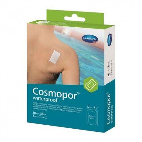 Cosmopor Waterproof Apósito Adhesivo Impermeable 10 cm. x 8 cm. 5 Unidades