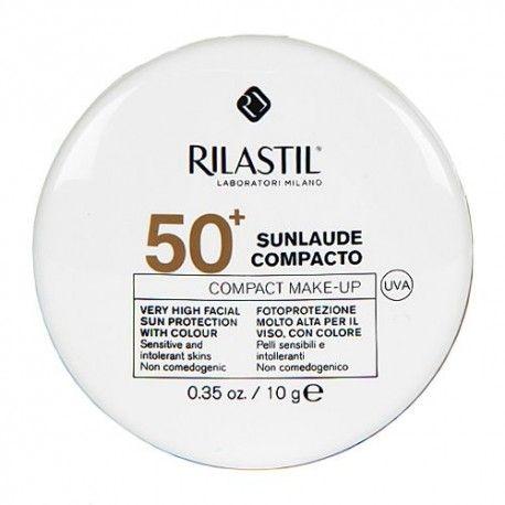 Cumlaude Rilastil Sunlaude Maquillaje Compacto Medium SPF 50+ 10 gr.