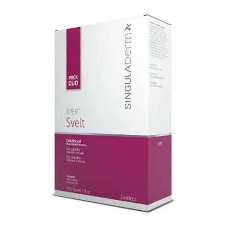 Singuladerm Xpert Perfect Svelt Gel Anticelulítico Duplo 2 x 200 ml.