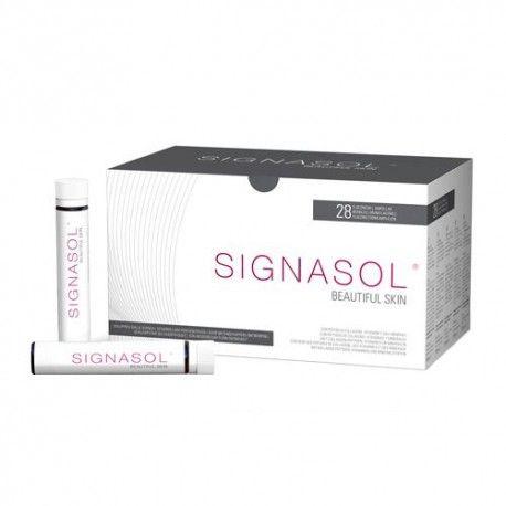 Signasol Beautiful Skin Colageno Bebible 28 Ampollas 25 ml.