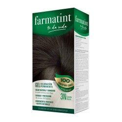 Farmatint Gel Coloración Permanente 3N Castaño Oscuro